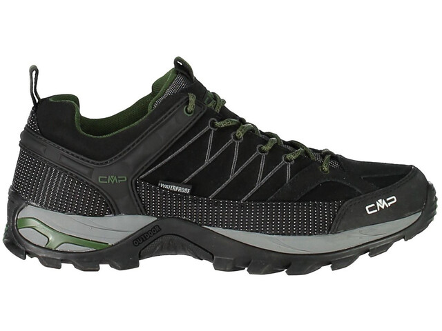 CMP Campagnolo M's Rigel Low WP Trekking Shoes Black-Loden